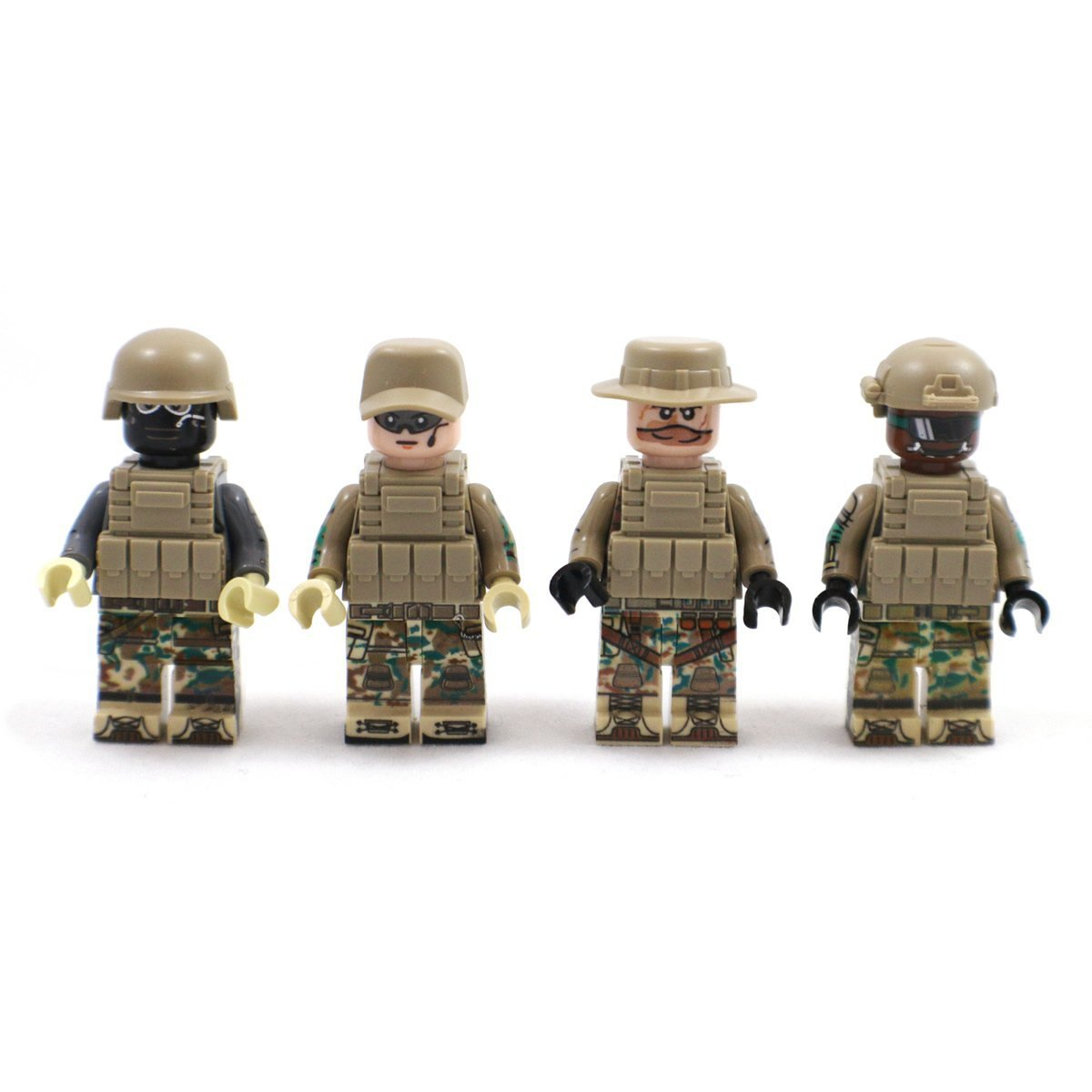 Lego Figures Toys : Swat counter strike global offensive army mini figures