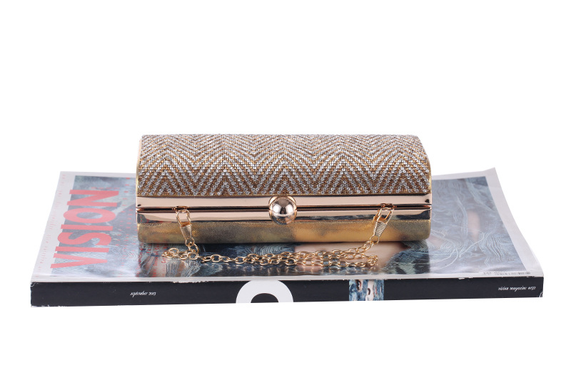 Women's bag European and American new fashion diamond evening party package NHYG174742