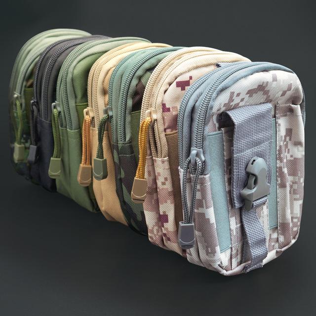 战术运动腰包挂包 运动户外战术皮带包 防水多功能战术腰包 批发