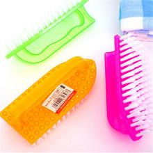 工厂货塑料洗衣刷 清洁日用带手柄毛刷 清洁洗衣刷多功能去污强