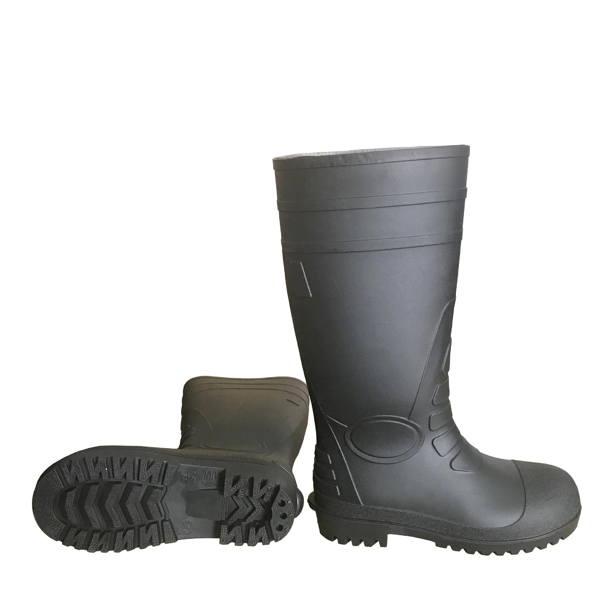 供应耐酸碱雨鞋 带钢头 钢底防砸防刺穿防水防滑耐油耐酸碱
