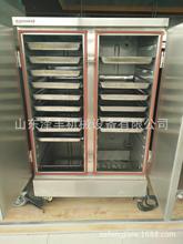 新款燃氣24盤蒸飯柜 雙門天然氣 液化氣蒸飯車 全不銹鋼蒸箱
