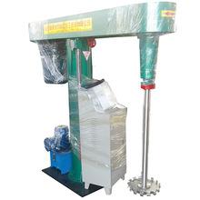 山东涂料乳胶漆液体高速分散搅拌机厂家  带拉缸防爆分散机