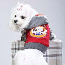 新款泰迪贵宾狗狗衣服冬装宠物用品幼犬四脚衣加厚羊毛呢现货批发