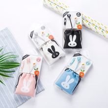 Aiyale L ≤ 19 Rabbit Cartoon KT Cat Tower Building Fruit into ear with Wheat headset for the same collection