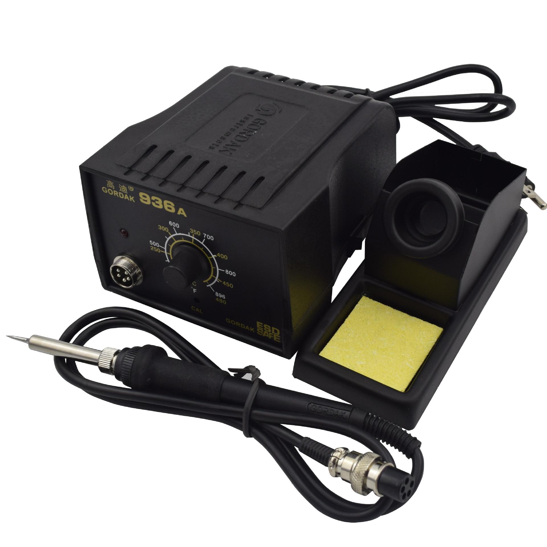 原装高迪936A防静电恒温焊台 调温电铬铁 60W焊接电焊台
