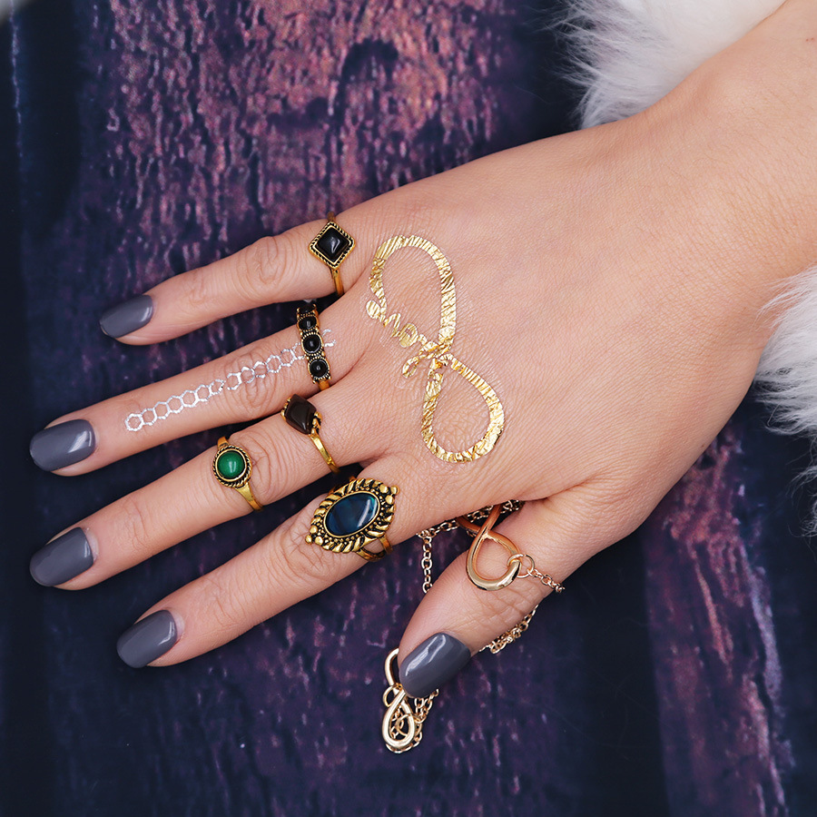 Fashion Alloy plating Ring(Ancient gold)NHGY1589-Ancient gold