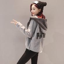2019新款短款毛呢外套女矮个子韩版学生妮子大衣小款?#22871;?#21602;子冬季