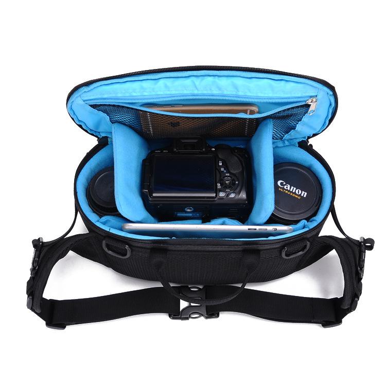 厂家直销新款防水收纳包多功能户外单反相机包单肩斜跨数码摄影包