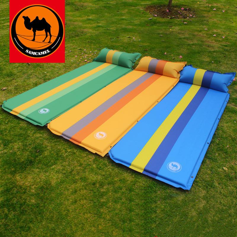 沙漠骆驼 户外自动充气垫 加宽加厚 野营帐篷防潮地垫 午休床垫