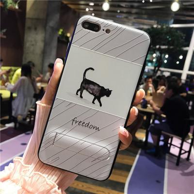 Iphone8 vỏ điện thoại mạ iphone7 mới khung Apple 6 cô gái dây buộc lỗ bảo vệ bìa Daquan