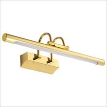 LED镜柜灯 卫生间浴室亚克力镜画灯 防雾防水欧式镜前灯厂家直销
