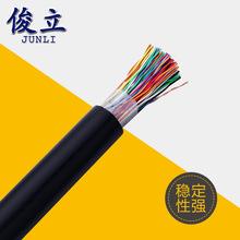 生产厂家HYA室外100对大对数通信电缆无氧铜电缆电缆监控工程专用