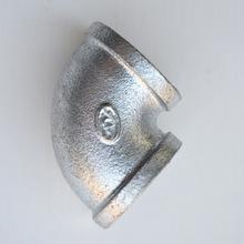 玛钢管件镀锌消防水暖铁管件4分6分1寸镀锌90度弯头 消防镀锌管件
