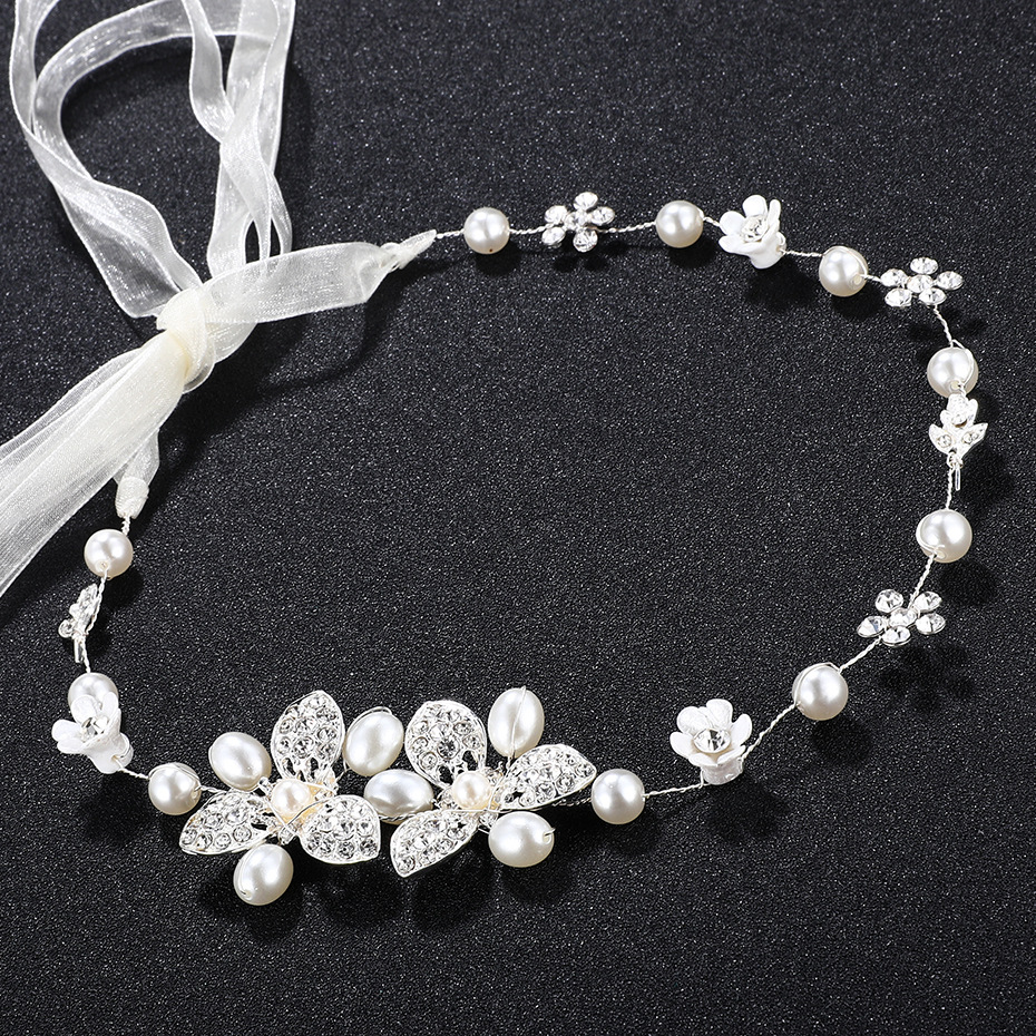 Alloy Fashion Geometric Hair accessories  white NHHS0360white