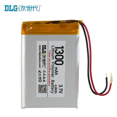 深圳 次世代聚合物锂电池 1300mAh 3.7V 504360 批量定制 供应商