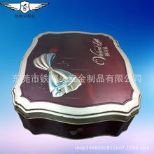 厂家生产曲奇饼盒定制月饼盒食品盒饼干盒马口铁空盒新款方盒铁罐