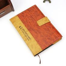厂家直销办公文具用品商务日记本子 高档商务笔记本仿皮笔记本