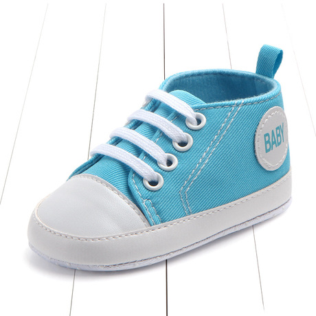 Mùa xuân và mùa thu 0-1 tuổi Giày vải bé bé mới biết đi Giày bé giày đế mềm 0106 Giày em bé