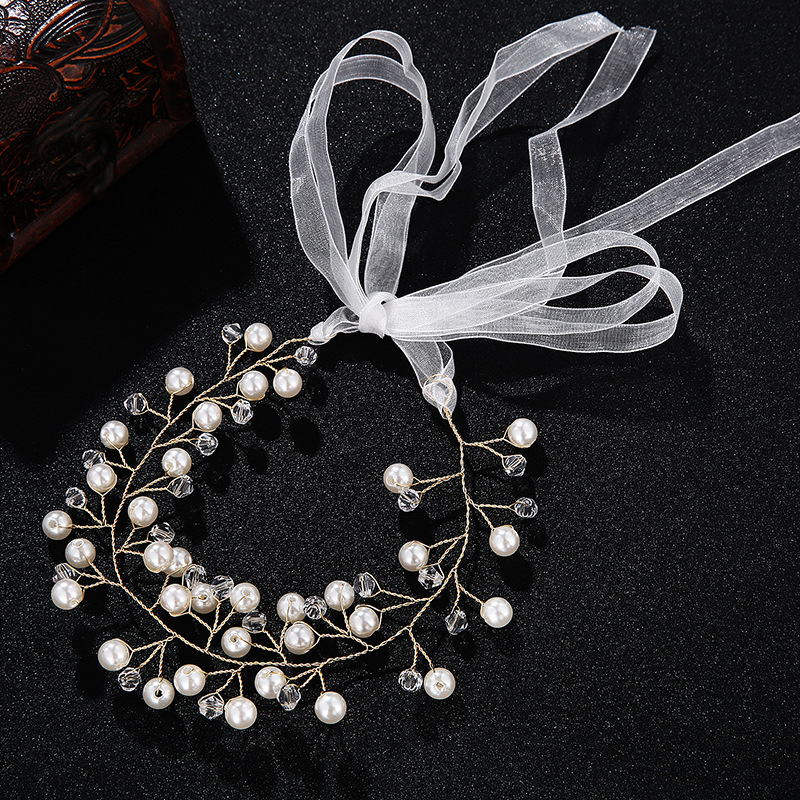 Alloy Fashion Geometric Hair accessories  (white) NHHS0258-white