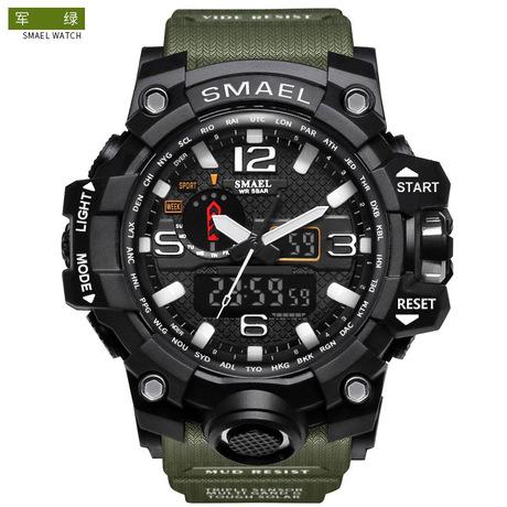 Đồng hồ mùi mới chính hãng thời trang thể thao đa chức năng đồng hồ điện tử đôi nam phổ biến chống nước bán buôn