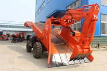 湖南扒渣机实心轮胎|效率高的大型装渣机|永州皮带扒渣机