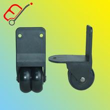 箱包配件脚轮  双轮加轴工具箱脚轮 EJ8011轮子 铝箱配件直角轮