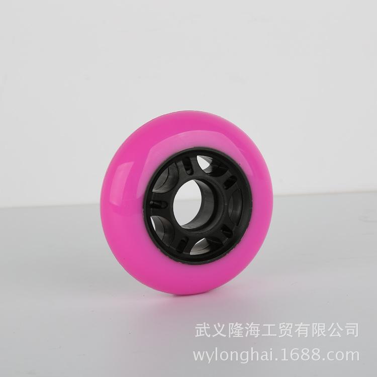 厂家直销76溜冰鞋PU轮 优质扭扭车滑板车摇摆溜溜车轮子  耐磨静