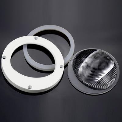 92mm150°LED路灯透镜 KC92-3 凯创微结构cob防眩光路灯透镜