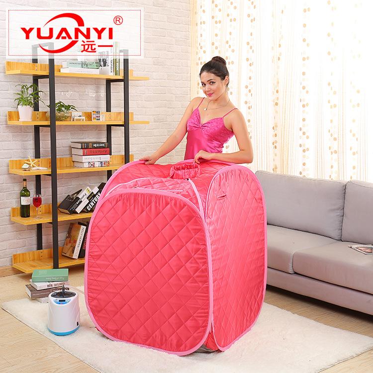 厂家定做单人汗蒸箱  蒸汽桑拿浴箱  中药熏蒸机 质量保证