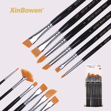 优质12支混头你龙猫笔刷套装  油画笔厂家批发美术绘画用品