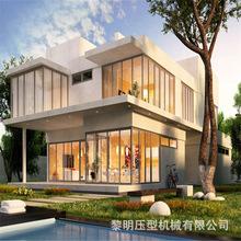 厂家直销新农村整体建设轻钢房屋 内蒙古草原棚户区改造 轻钢别墅