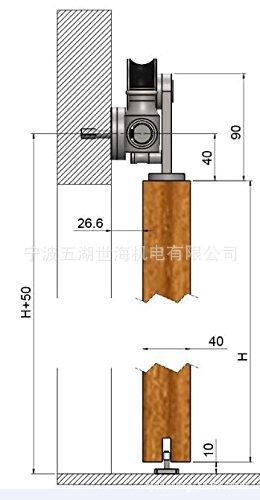 不锈钢木门  推拉门 钢轮 吊轨零配件批发