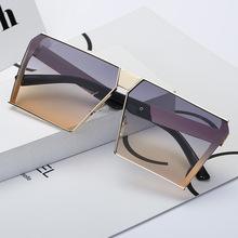 2017新款太阳镜 女士时尚方形海洋墨镜潮流欧美街拍太阳镜批发283