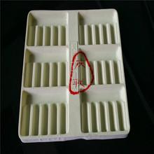 【廠家直銷】 各種形狀吸塑塑托 高檔pvc植絨吸塑塑托