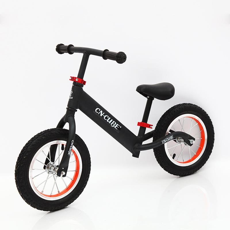 厂家直销出口儿童自行车 无脚踏小型安全滑行车 宝宝学步平衡车