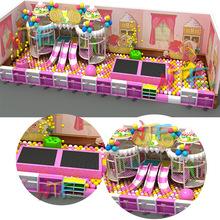 诺特帆淘气堡厂家直销室内大型儿童游乐设备 亲子主题乐园大闯关