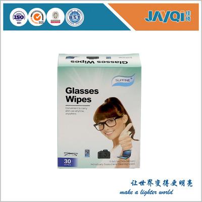 30片包装两联片湿巾纸 一次性镜片镜头手机数码屏幕湿巾纸