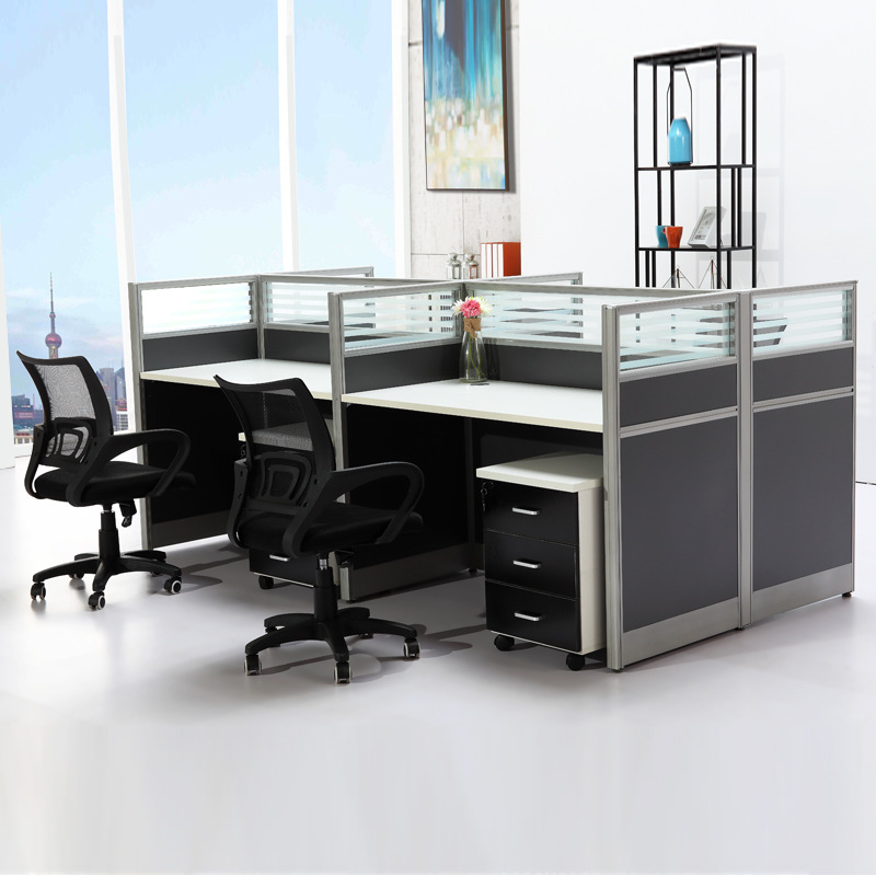 Groovy Simple Modern Staff Office Chair Combination 2 4 Person Employee Computer Office Desk Screen Staff Position Ocoug Best Dining Table And Chair Ideas Images Ocougorg