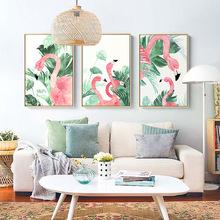现代简约客厅装饰画卧室书房沙发背景墙餐厅挂画火走廊画动物墙画