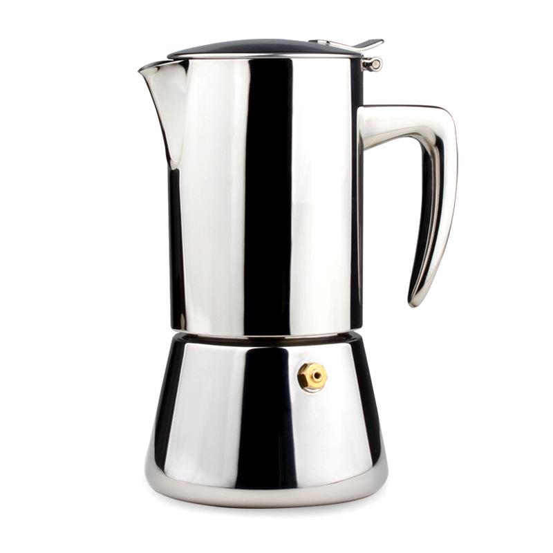摩卡咖啡壶 家用304不锈钢咖啡机 意式特浓摩卡壶可配电磁炉