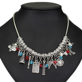 Doctor Mystery necklace Alloy pendant European and American Jewelry popular