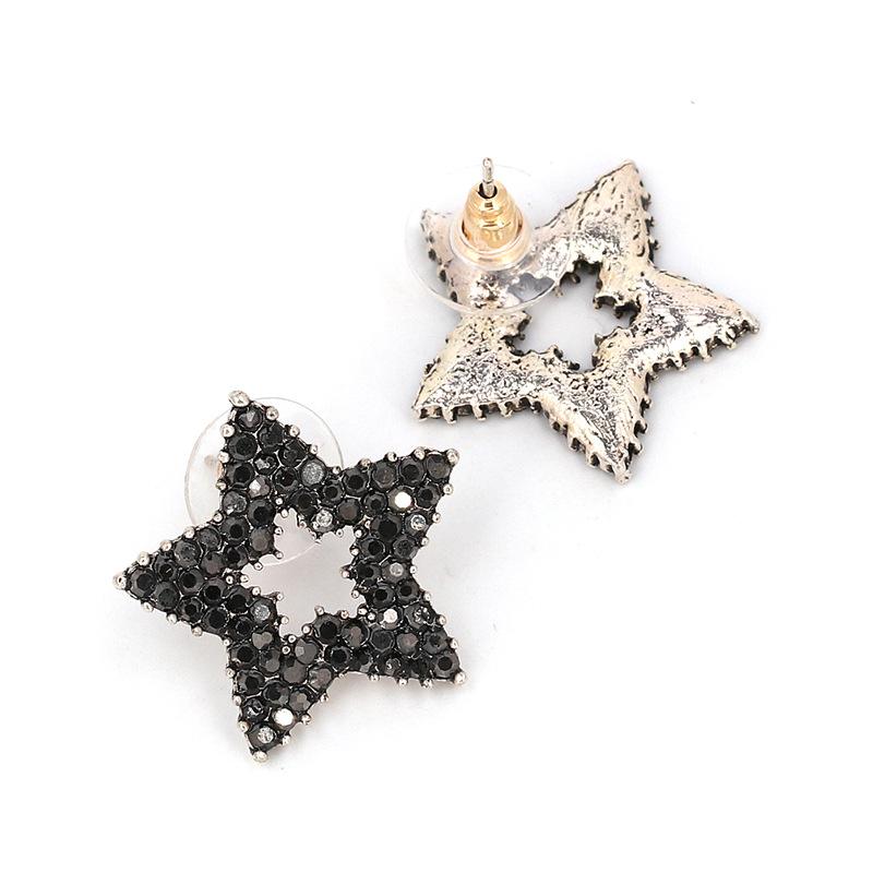 Alloy Fashion Geometric earring  Alloy black NHJJ4360Alloy black