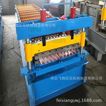 厂家低价销售高数输入 性能优良全自动波纹板彩钢压瓦机 冷弯机械