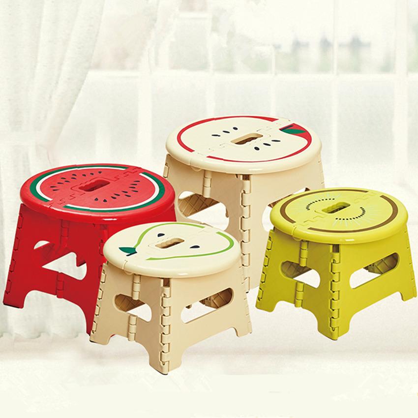 创意加厚折叠凳子水果塑料便携式矮凳户外家用儿童幼儿园小板凳