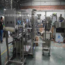 自动下管灌装旋盖贴标装盒 申科自动试管灌装一体机广州冠鸿生产