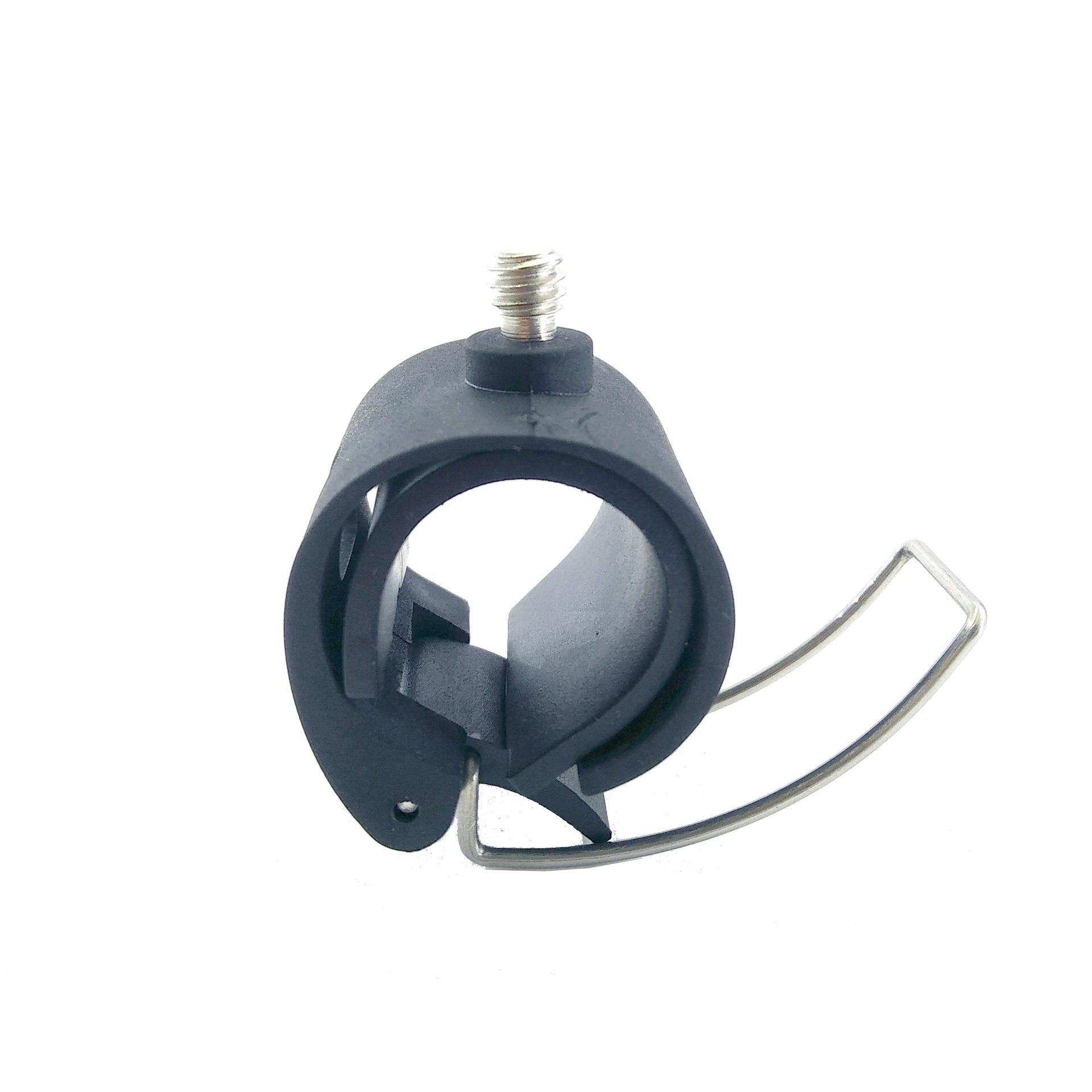 gopro7/6/5简易单车支架便携音响自行车夹手机固定支架 大疆DJI