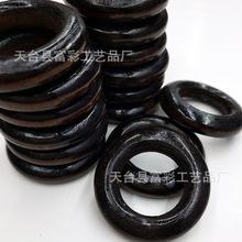 DIY手工飾品材料 咖啡色木圈圓環 手工木圈木環 外直徑35mm