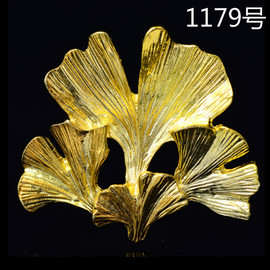 Flowers, leaves, petals, hair ornaments, diy alloy accessories, headgear, shoes, clothing, handbags, materials 1179