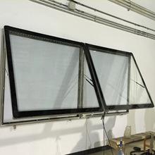 厂家定制led宣传栏灯箱 201不锈钢阅报栏 壁挂式宣传栏 挂壁灯箱